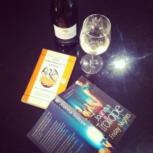 Blog Picture of Wine and books